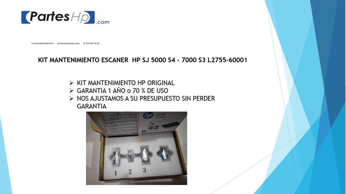 Kit Mantenimiento Escaner SJ 5000 S4 7000 S3